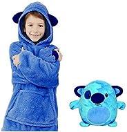 AMXJH Pet Hoodies, Plush Animals Become Super-Dalian Hood Sweatshirts with Large Pockets, Pullovers, Bathrobes