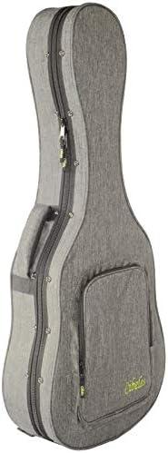 Estuche Guitarra Clásica Superior CIBELES, Foam, (Gris Claro - Forro Rojo): Amazon.es: Instrumentos musicales