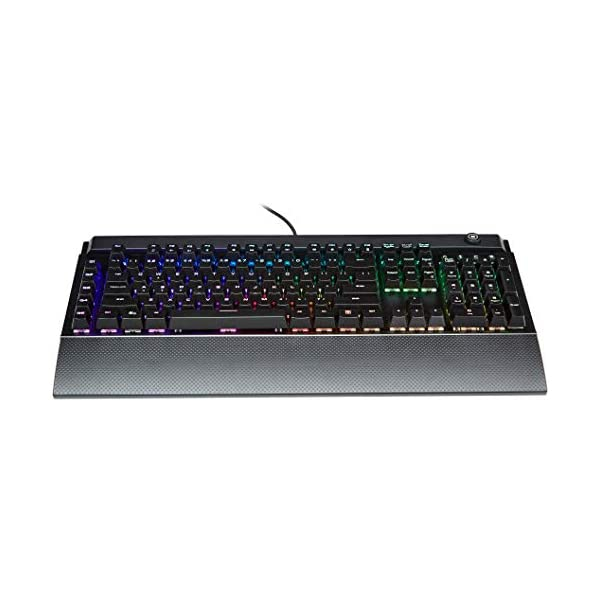 Amazon Basics Programmable Mechanical PC Gaming Keyboard | RGB LED Backlit, US Layout (QWERTY)