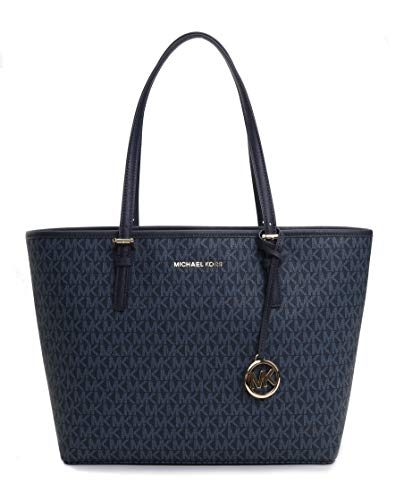 (Michael Kors Women's Jet Set Travel Md Carryall Tote No Size)