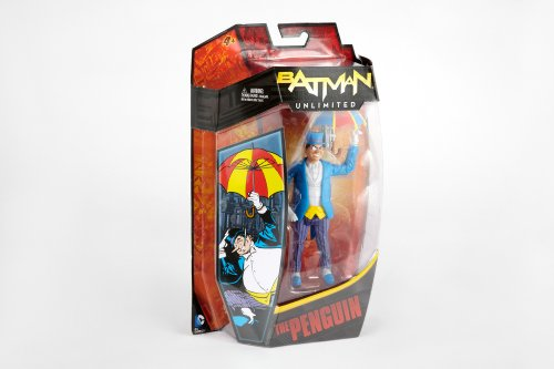Batman Unlimited The Penguin Collector Action Figure