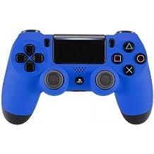 [Patrocinado] PS4 Dualshock Playstation 4 Controlador Custom Soft Touch Nuevo Modelo JDM-040, Azul