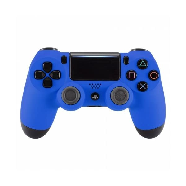 OC Gaming PS4 Dualshock Playstation 4 Wireless Controller Custom Soft Touch New Model (Blue) 1