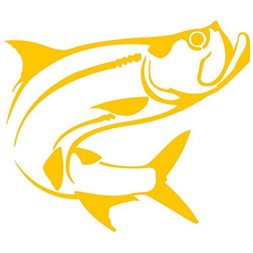 Tarpon Fish Vinyl Decal (Decal Tarpon)