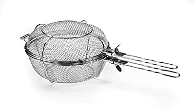 Outset 76163 Grill Skillet with Removable Handle, Non-Stick