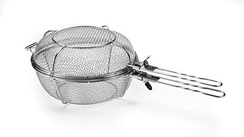 Outset 76450 Jumbo Grill Basket, 11.75