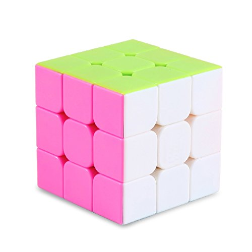 GranVela Standard Speed Cube Stickerless Magic Puzzle Cube