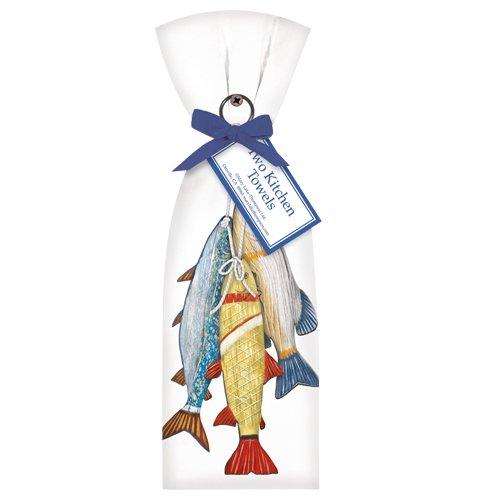 Wooden-Fish-Towel-Set