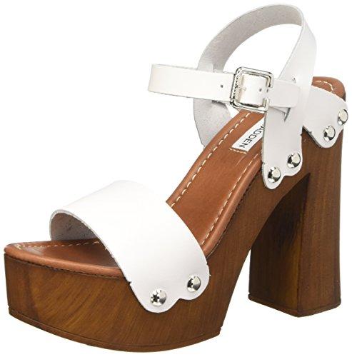 Steve Madden Shaylah - Zapatos de vestir Mujer Blanco - Blanc (Blanc)