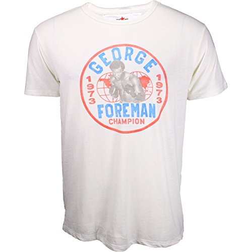 Roots of Fight George Foreman Emblem Triblend Shirt - White - X-Large George Foreman Shirts