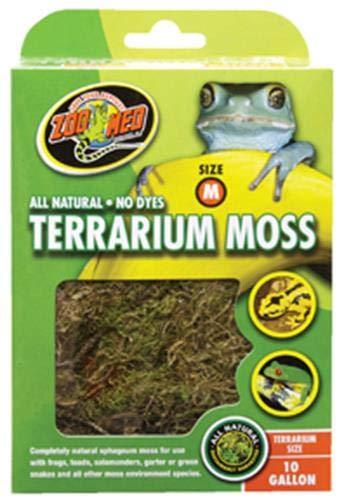- Zoo Med Terrarium Moss 10 Gallon
