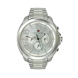 Tommy Hilfiger Women's 1781391 Serena Analog Display Quartz Silver Watch
