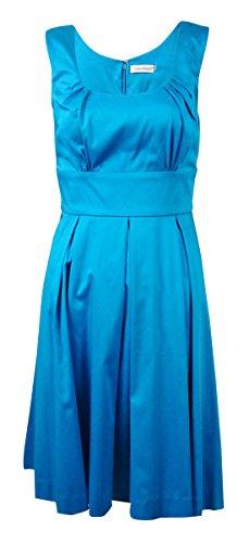 calvin klein a line pleated dress - 7