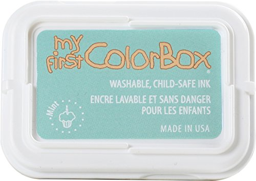 (ColorBox 68053 My First Single Inkpads, Mint)