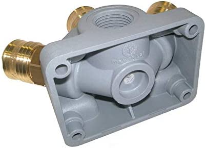 Endverteilerdose Ev 34 G3 Kupplung 3 Fach G 3 4 Druckluftverteiler Kunststoff Baumarkt