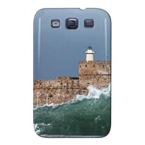 Stormy Wave Navy Nature For Sumsang Galaxy S3 Protective Case