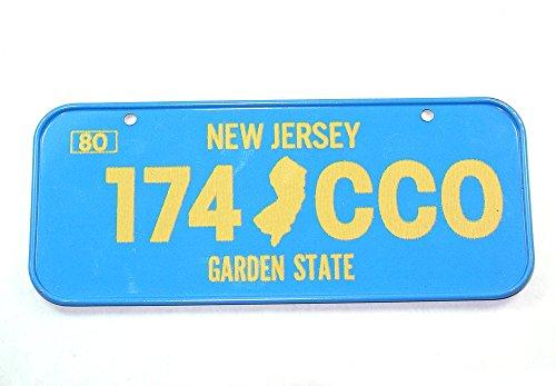 Vintage Cereal License Plate