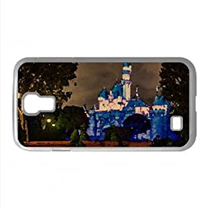 Disneyland Sleeping Beauty Castle Watercolor style Cover Samsung Galaxy S4 I9500 Case (California Watercolor style Cover Samsung Galaxy S4 I9500 Case)