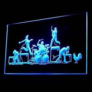 BAND Rock Roll Advertising LED Light Sign