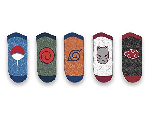 Ripple Junction Naruto - Shippuden Icons 5 Pack Socks