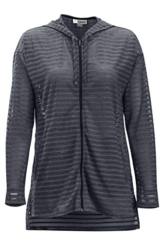 ExOfficio Women's BugsAway Modena Hoody, Ink, Medium