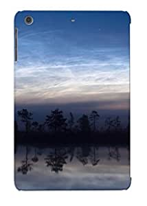 Ellent Design Water Clouds Landscapes Nature Dawn Forest Lakes Skyscapes View Case Cover For Ipad Mini/mini 2 For New Year's Day's Gift