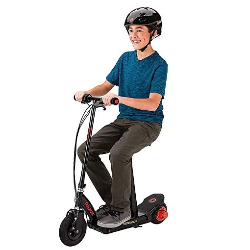 Razor Power Core E100S Electric Scooter Unisex-Youth, Rouge, Taille Unique