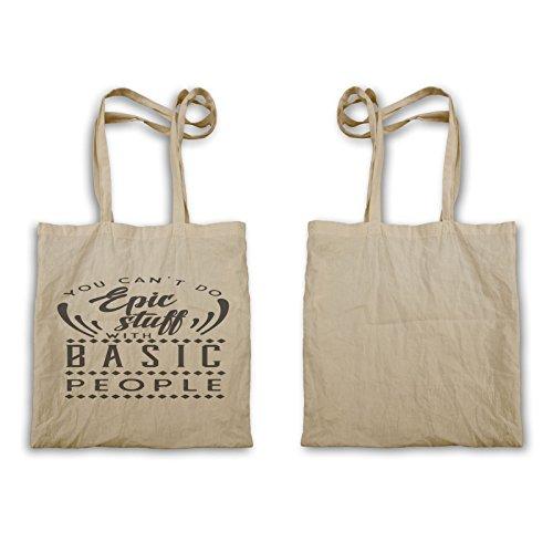 Non Puoi Fare Cose Epiche Con La Semplice Tote Bag T812r