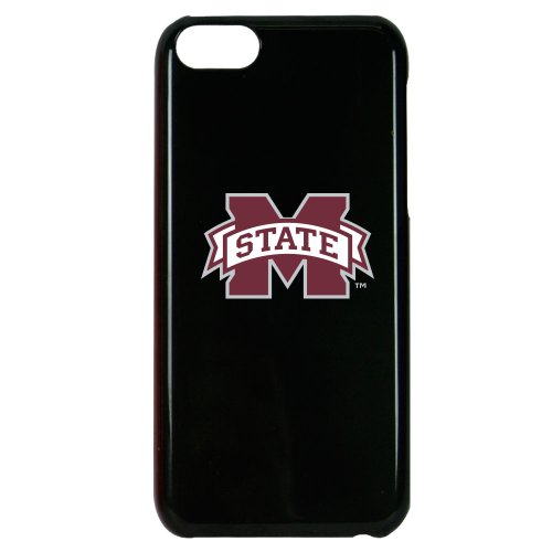 NCAA Mississippi State Bulldogs Case for iPhone 5C, One Size, Black