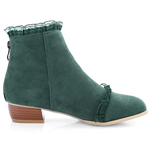 Low Fashion Boots Green Melady Heels Ankle tSAFZ4Wwqp
