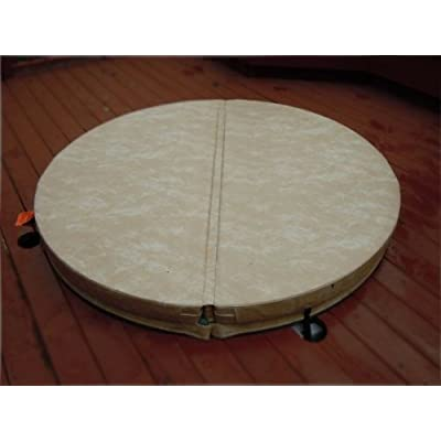 BeyondNice 76in Round Hot Tub Covers - Spa Covers - Replace Your Heavy, Old Cover : Garden & Outdoor
