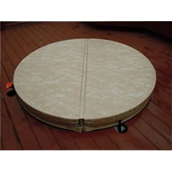 beyondnice 76in round hot tub covers spa covers replace your heavy old cover - Hot Tub Covers