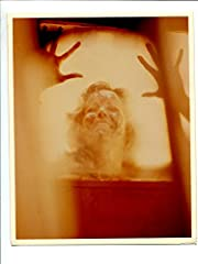 Great 8x10 promotional still Brenda Bakke dying in the spa. Still is in good shape, has very minor creases on corners.