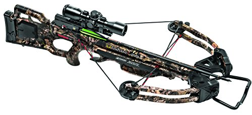 TenPoint Turbo GT Crossbow Package with 3x Pro-View 2 Scope, 3 Pro-Elite Carbon Arrows, 3-Arrow Instant Detach Quiver, and Ambidextrous Side Quiver Mount ()