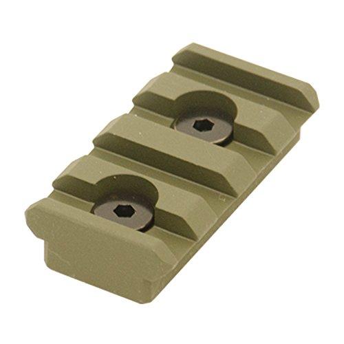 UTG PRO 4-Slot Keymod Picatinny Rail Section-OD Green ()