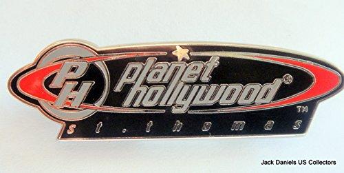 Planet Hollywood St.Thomas City Logo Pin