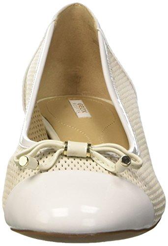 off Ballerines Femme Pour Blanc Whitec1002 G Geox Wistrey D 7z0OZ