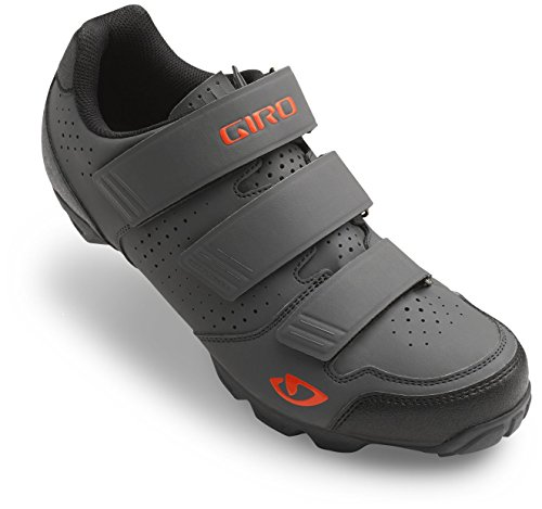 Giro Carbide R Shoe - Men's Dark Shadow/Flame 45