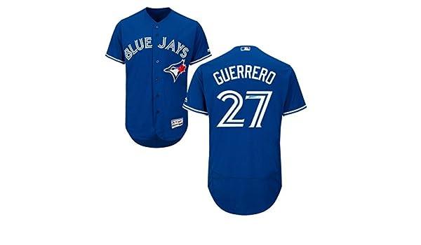 65b9b82612b Frameworth Vladimir Guerrero Jr. Signed Jersey Blue Jays Replica Blue -  Autographed MLB Jerseys at Amazon s Sports Collectibles Store