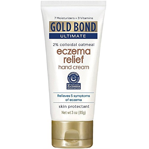Gold Bond Ultimate Eczema Relief Hand Cream 3 oz. (Pack of 6)