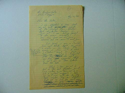 "RARE!""American Author"" John H. Davis Hand Written Letter JG Autographs COA from Unknown"