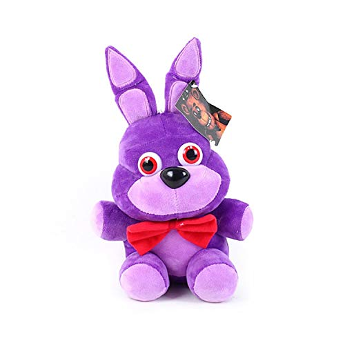 Panamat Movies & TV - 25cm Five Nights at Freddy's FNAF 4 Freddy Bear Bonnie Chica Foxy Plush Toys Soft Stuffed Animals Toys Doll for Kids Gifts 1 PCs