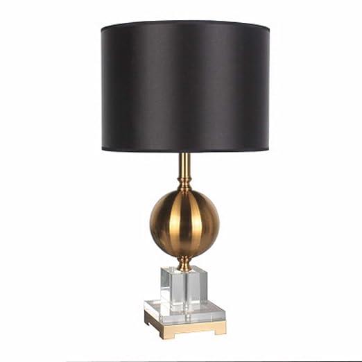 Lámpara de mesa decorativa personalizada, pantalla de lino de alta ...