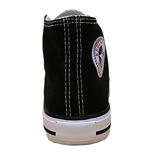 Lace Navy Trainers Shoes Plimsoll Top High Women's Sneakers Canvas Gym Up tO77wf