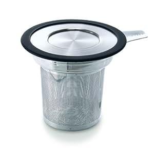 FORLIFE Brew-in-Mug Extra-Fine Tea Infuser with Lid