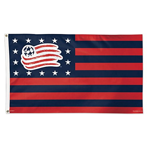 fan products of SOCCER New England Revolution Deluxe Flag, 3' x 5'