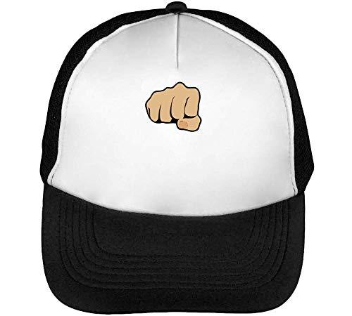 Blanco Hombre Bro Fist Gorras Funny Snapback Beisbol Negro 0BFAg0qwT