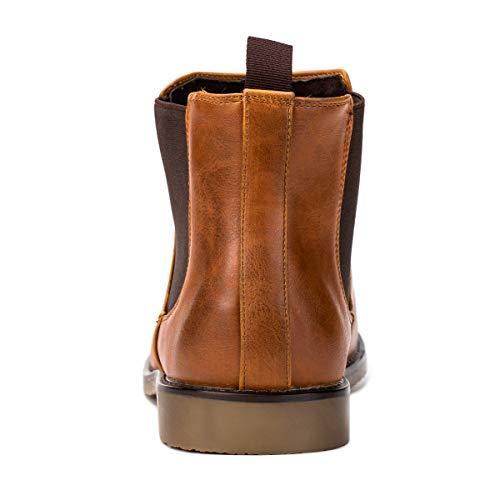 Bottines Boots Pour Chelsea Homme Jivana Bottes Marron HSqAwng