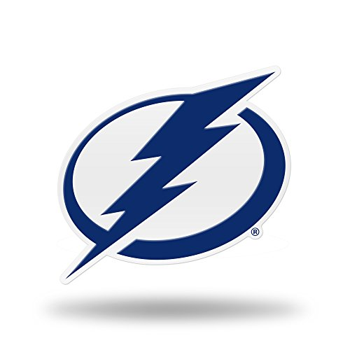Rico Industries NHL Tampa Bay Lightning Team Color Auto Emblem 3D (Lightning Team Color)