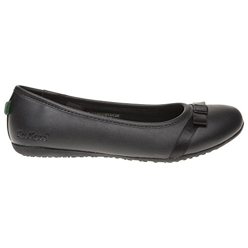 Femme Verda Chaussures Noir Bow Kickers aXpFnqBcw